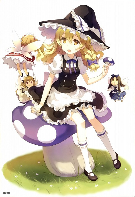 H2SO4, Touhou, Luna Child, Marisa Kirisame, Star Sapphire
