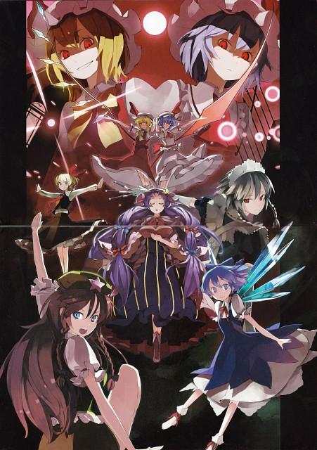 Shihou (Mangaka), Touhou Yuu Gajou, Touhou, Patchouli Knowledge, Flandre Scarlet