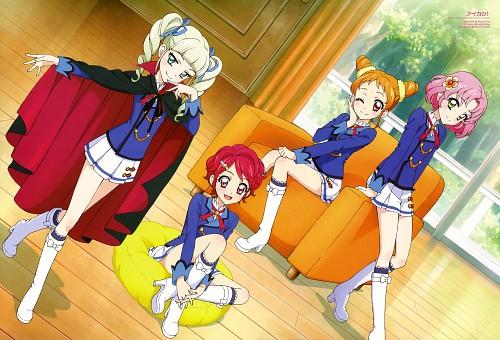 Sunrise (Studio), Aikatsu!, Otome Arisugawa, Sakura Kitaouji, Yurika Toudou