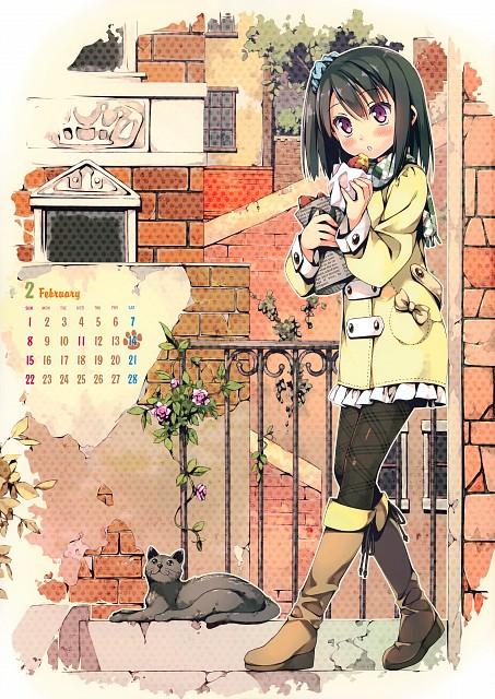 Kantoku, Kantoku Self Select Calendar 2015, Shizuku (Kantoku), Calendar