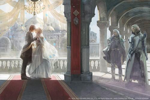 Square Enix, Final Fantasy XV, Ravus Nox Fleuret, Regis Lucis Caelum, Lunafreya Nox Fleuret