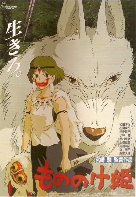 Studio Ghibli, Princess Mononoke, Moro, San