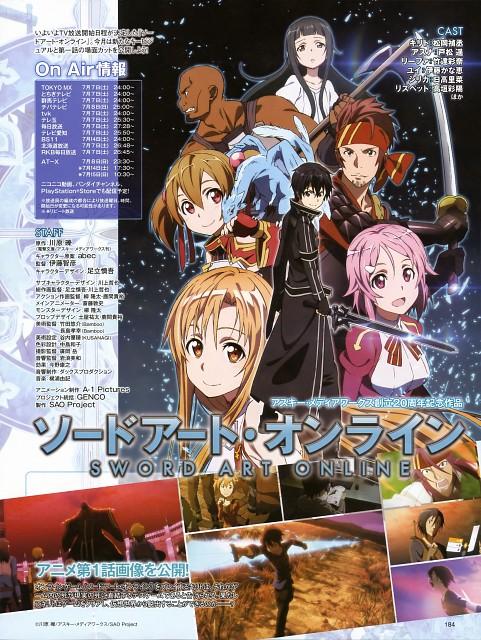 Abec, A-1 Pictures, Sword Art Online, Keiko Ayano, Andrew Gilbert Mills
