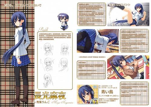 Muririn, Yuzusoft, Noble Works, Maya Nagamitsu, Character Sheet