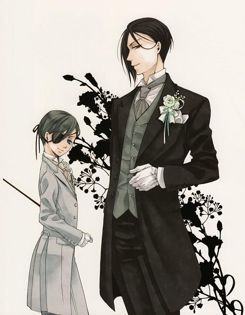 Yana Toboso, A-1 Pictures, Square Enix, Kuroshitsuji, Black Butler Artworks 2