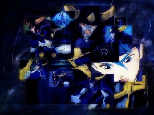 Yoroiden Samurai Troopers Wallpaper