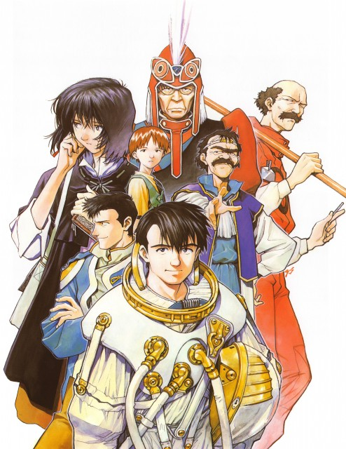 Yoshiyuki Sadamoto, Royal Space Force: The Wings of Honneamise, Manna Nonderaiko, Riquinni Nonderaiko, Shitotsugh Lhadatt
