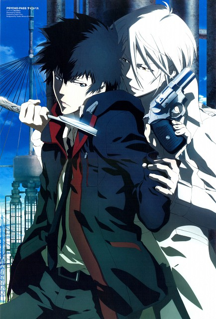 Production I.G, PSYCHO-PASS, Shougo Makishima, Shinya Kougami, Prince Animage