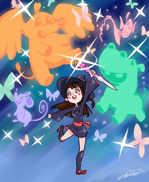 Trigger (Studio), Little Witch Academia, Atsuko Kagari, Unidentified