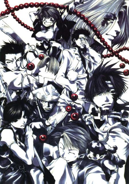 Kazuya Minekura, Studio Pierrot, Saiyuki, Salty Dog I, Dokugakuji