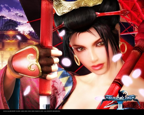 Namco, Soul Calibur, Setsuka, Official Wallpaper