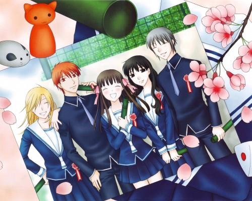 Natsuki Takaya, Fruits Basket, Tohru Honda, Saki Hanajima, Arisa Uotani