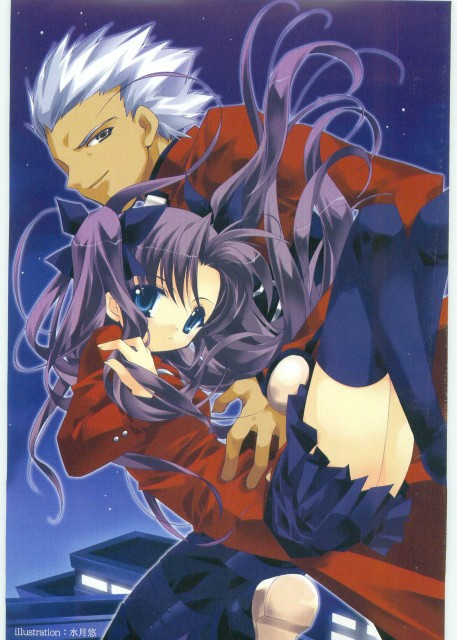 Haruka Minazuki (Mangaka), TYPE-MOON, Fate/stay night, Archer (Fate/stay night), Rin Tohsaka