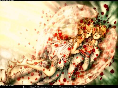 Kaori Yuki, Angel Sanctuary, Sara Mudo, Setsuna Mudo Wallpaper