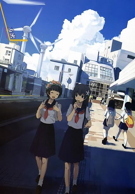 Houmitsu, To Aru Kagaku no Railgun, Ruiko Saten, Kazari Uiharu, Dengeki Daioh