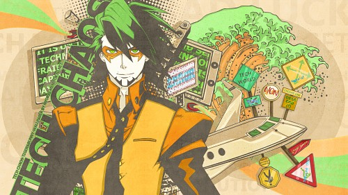 Sunrise (Studio), Tiger and Bunny, Kotetsu T. Kaburagi, Vector Art Wallpaper