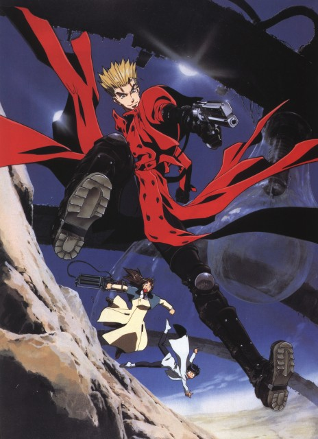 Madhouse, Trigun, Milly Thompson, Meryl Stryfe, Vash the Stampede