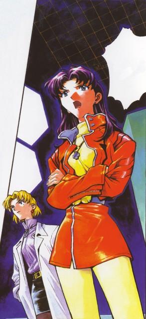 Yoshiyuki Sadamoto, Gainax, Neon Genesis Evangelion, Der Mond, Misato Katsuragi