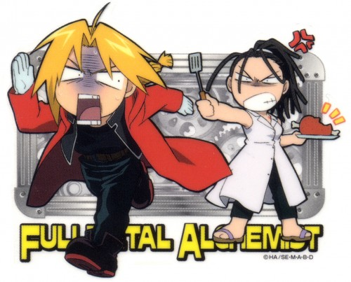 Hiromu Arakawa, BONES, Fullmetal Alchemist, Edward Elric, Izumi Curtis