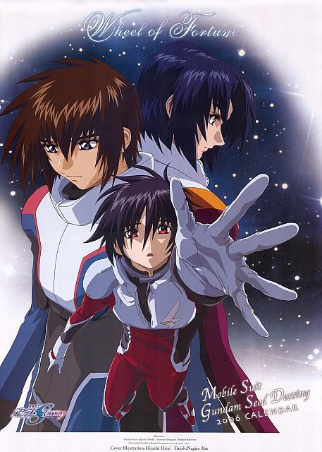 Gundam Seed Destiny 2006 Calendar