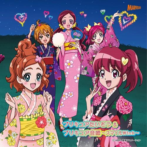 Toei Animation, Precure All Stars, Megumi Aino, Tsubomi Hanasaki, Nozomi Yumehara