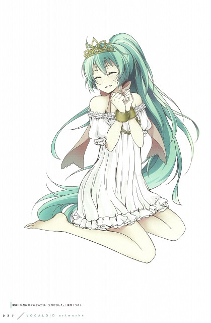 Wogura, Happiness -wogura artworks-, Vocaloid, Miku Hatsune