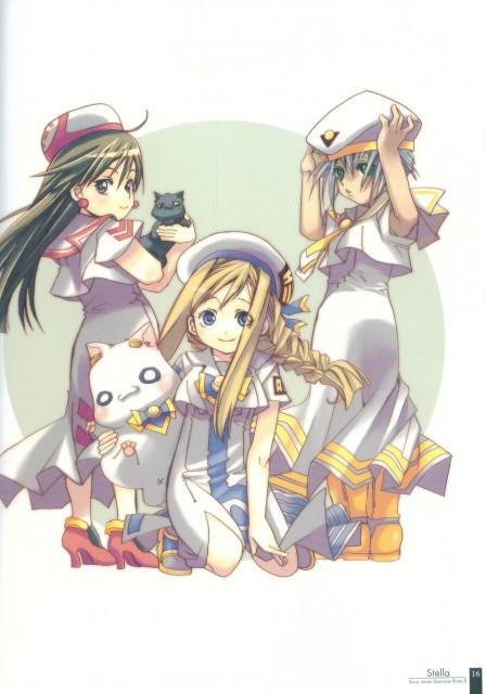Kozue Amano, Aria, Stella – Kozue Amano Illustration Works 2, Maa Shachou, Athena Glory