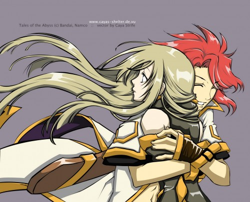 Kousuke Fujishima, Tales of the Abyss, Luke Fon Fabre, Tear Grants, Vector Art