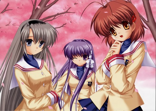 Hinoue Itaru, Key (Studio), Clannad, Nagisa Furukawa, Kyou Fujibayashi