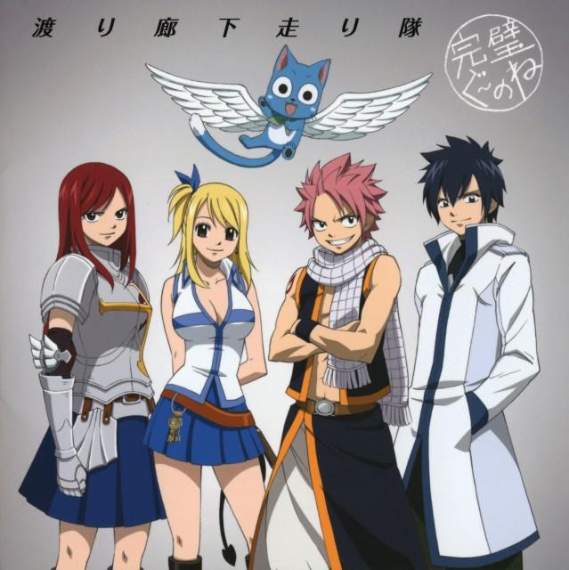 Hiro Mashima, Satelight, Fairy Tail, Gray Fullbuster, Erza Scarlet