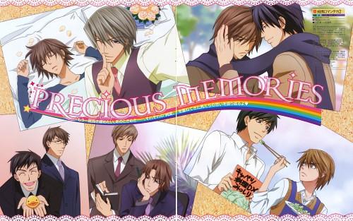Shungiku Nakamura, Junjou Romantica, You Miyagi, Akihiko Usami, Shinobu Takatsuki
