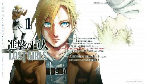 Fuji Ryousuke, Production I.G, Shingeki no Kyojin, Annie Leonhardt, Manga Cover