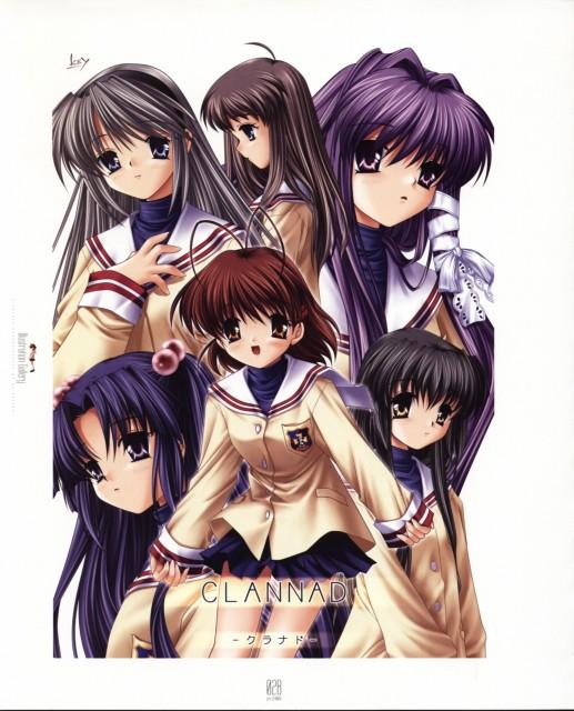 Hinoue Itaru, Key (Studio), Clannad, Nagisa Furukawa, Kotomi Ichinose