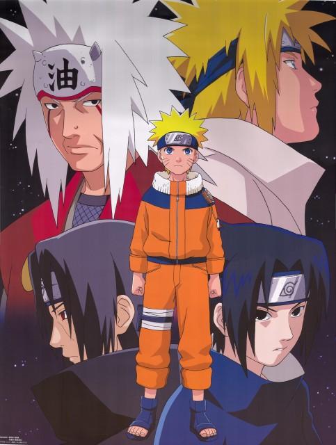 Studio Pierrot, Naruto, Sasuke Uchiha, Itachi Uchiha, Minato Namikaze