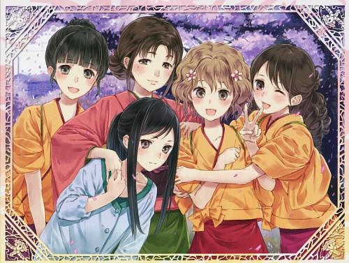 Mel Kishida, P.A. Works, Hanasaku Iroha, Minko Tsurugi, Nako Oshimizu