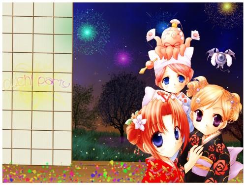 Aoi Nanase, Puchimon, Chamomile Jasmine, Maris Mischa, Melty Bagel Wallpaper