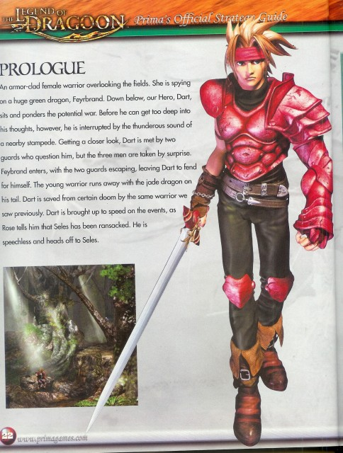 Sony Computer Entertainment Inc, Legend of Dragoon