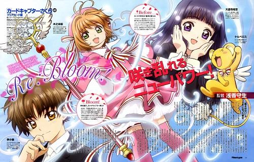 Kumiko Takahashi, Cardcaptor Sakura, Tomoyo Daidouji, Sakura Kinomoto, Keroberos