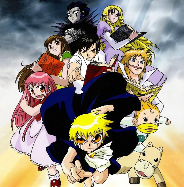 Toei Animation, Konjiki no Gash Bell, Kiyo Takamine, Gash Bell, Sherry Belmont