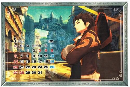 Namco, Tales of Xillia, Alvin (Tales of Xillia), Calendar