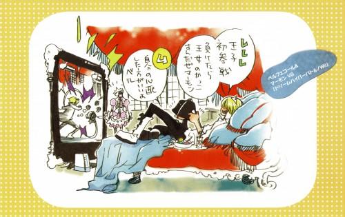 Akira Amano, Katekyo Hitman Reborn!, Colore!, Belphegor (Katekyo Hitman Reborn!), Mammon (Katekyo Hitman Reborn!)