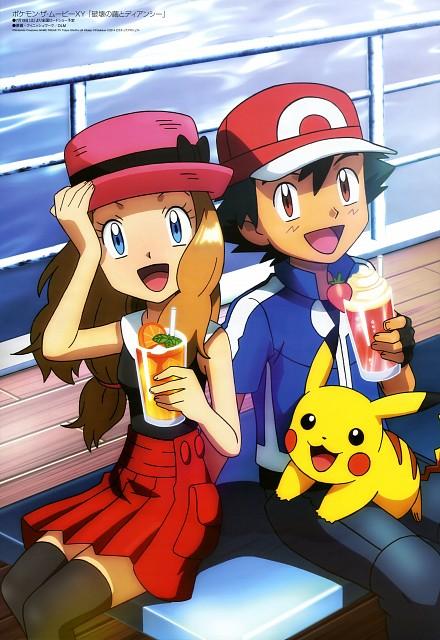Nintendo, OLM Digital Inc, Pokémon, Serena, Pikachu