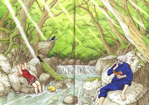 Masashi Kishimoto, Naruto, Uzumaki (Artbook), Sasuke Uchiha, Sakura Haruno
