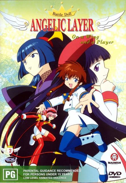 CLAMP, Angelic Layer, Suzuka (Angelic Layer), Misaki Suzuhara, Hatoko Kobayashi