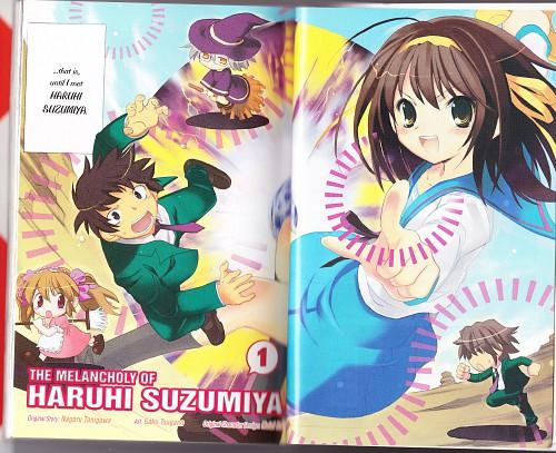 Kyoto Animation, The Melancholy of Suzumiya Haruhi, Mikuru Asahina, Kyon, Itsuki Koizumi