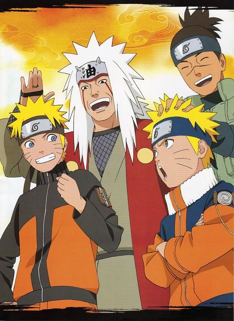 Studio Pierrot, Naruto, Jiraiya , Iruka Umino, Naruto Uzumaki