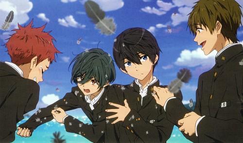 Kyoto Animation, Free!, Haruka Nanase (Free!), Makoto Tachibana, Asahi Shiina