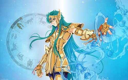Masami Kurumada, Saint Seiya, Aquarius Camus Wallpaper