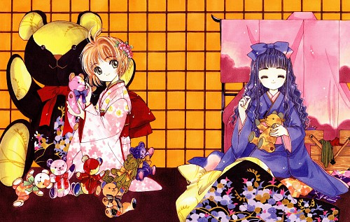 CLAMP, Cardcaptor Sakura, Cardcaptor Sakura Illustrations Collection 2, Tomoyo Daidouji, Sakura Kinomoto
