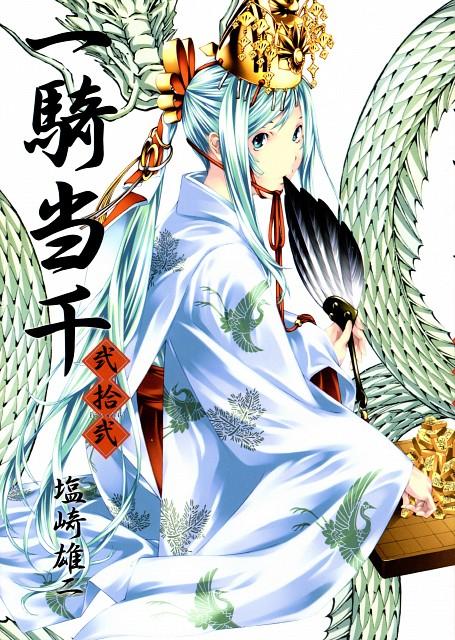 Yuji Shiozaki, J.C. Staff, Ikkitousen, Shokatsuryou Koumei, Manga Cover